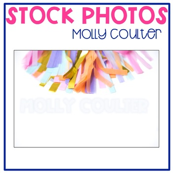 Stock Photo: Pastel Party Banner -Personal & Commercial Use