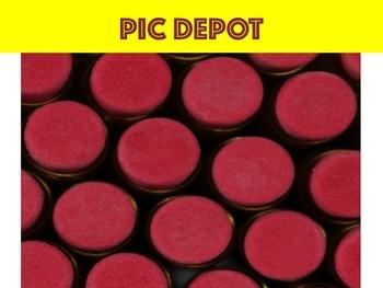 Stock Photo Pencil Eraser Ends