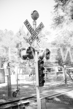 Stock Photo: Railroad Crossing Sign -Personal    by Molly