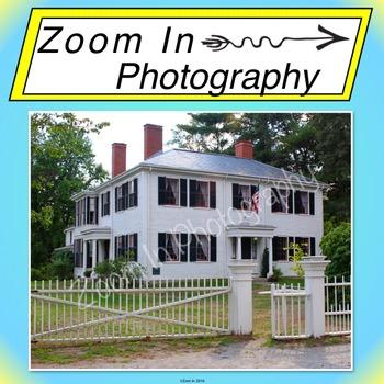 Stock Photo: Ralph Waldo Emerson's House