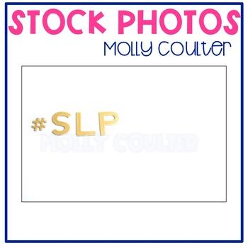 Stock Photo:SLP (Speech Language Pathologist) -Personal & Commercial Use