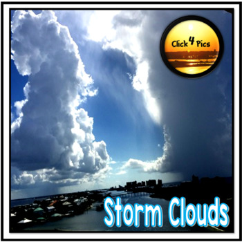 Stock Photo STORM CLOUDS Cumulonimbus Clouds Forming
