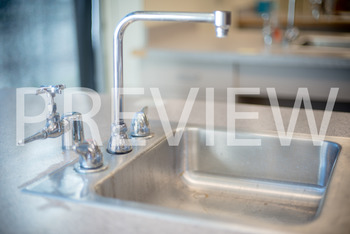 Stock Photo: Science Lab Sink -Personal & Commercial Use