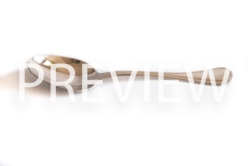 Stock Photo: Metal Spoon -Personal & Commercial Use