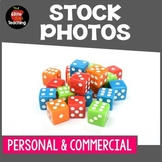 Stock Photo : Dice