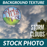 Stock Photo - Storm Clouds - Photograph - Arts & Pix
