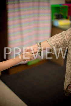 Stock Photo: Student Shaking Hands/Greeting Teacher-Person