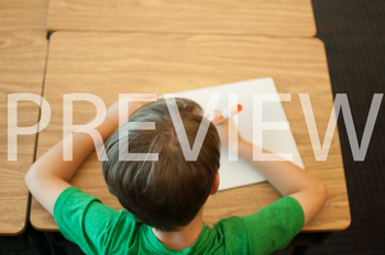Stock Photo: Student Writing on a Whiteboard #3 -Personal & Commercial Use
