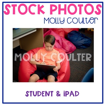 Stock Photo: Student & iPad- Personal & Commercial Use