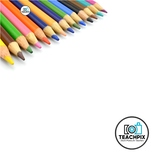Stock Photo: Styled Color Pencil #10