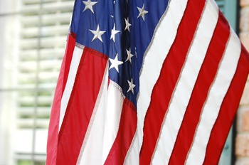 Stock Photo: American Flag #1-Personal & Commercial Use