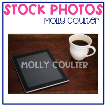 Stock Photo: Coffee Mug & iPad #2-Personal & Commercial Use