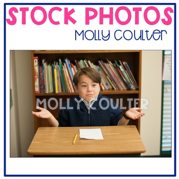 Stock Photo Styled Image: Confused Student -Personal & Com
