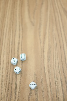 Stock Photo: Math Dice -Personal & Commercial Use