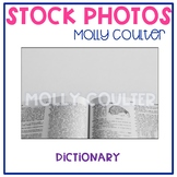 Stock Photo: Dictionary -Personal & Commercial Use
