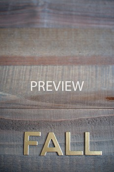 """Stock Photo Styled Image: """"Fall"""" #3 Gold Letters -Personal"""