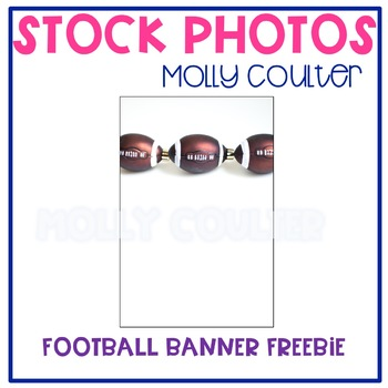 FREEBIE! Stock Photo: Football Banner -Personal & Commercial Use