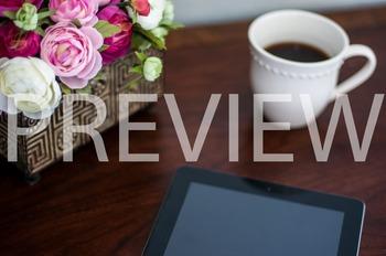 Stock Photo: Flowers, Coffee Mug & iPad #1-Personal & Comm