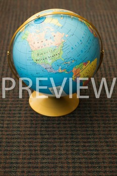 Stock Photo: World Desk Globe #1 -Personal & Commercial Use