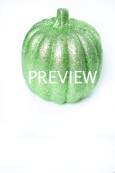 Stock Photo: Halloween Pumpkin -Personal & Commercial Use