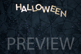 """Stock Photo: """"Halloween"""" #1 Words -Personal & Commercial Use"""