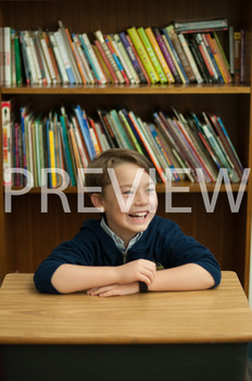 Stock Photo: Happy Student or Child #2 -Personal & Commercial Use
