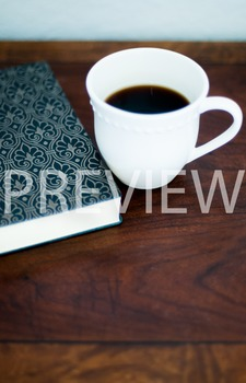 Stock Photo: Journal/Notebook & Coffee Mug 2 -Personal & C