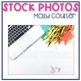 Stock Photo: Teacher Desk & Laptop #2 -Personal & Commercial Use