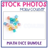 BUNDLE Stock Photo: Math Dice Bundle -Personal & Commercial Use