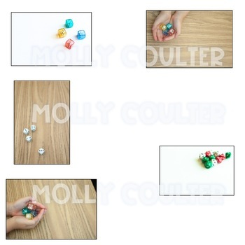 Stock Photo: Math Dice BUNDLE -Personal & Commercial Use