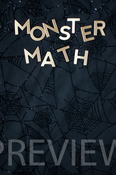 "Stock Photo: ""Monster Math"" #2-Personal & Commercial Use"