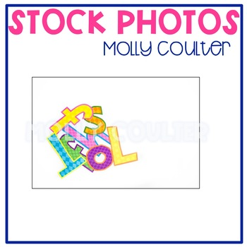 Stock Photo: Alphabet (Letters) -Personal & Commercial Use