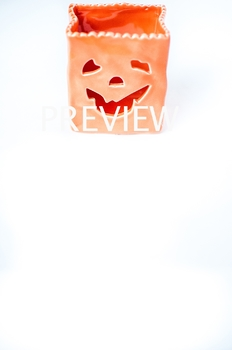 Stock Photo: Halloween Pumpkin Jack-O-Lantern #1 -Personal & Commercial Use