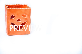 Stock Photo: Halloween Pumpkin Jack-O-Lantern #2 -Personal & Commercial Use