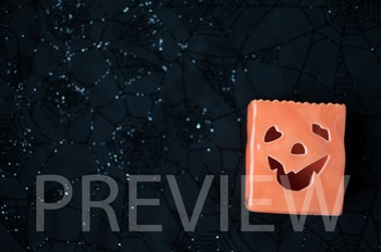 FREEBIE Stock Photo:Halloween Jack-O-Lantern#3 -Personal & Commercial Use