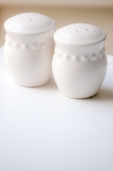Stock Photo Styled Image: Salt & Pepper Shakers-Personal &