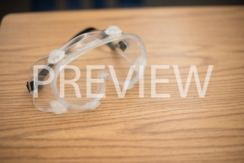 Stock Photo: Science Lab Protective Goggles -Personal & Commercial Use