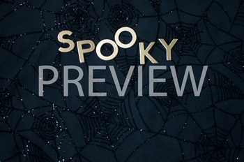 "Stock Photo: ""Spooky"" Halloween Words -Personal & Commercial Use"