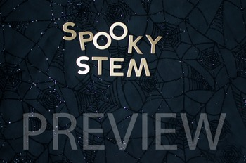 """Stock Photo Styled Image:""""Spooky STEM"""" #1 Halloween -Perso"""