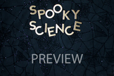 """Stock Photo: """"Spooky Science"""" Words #1-Personal & Commercial Use"""