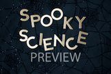 """Stock Photo Styled Image: """"Spooky Science"""" Words #2-Personal & Commercial Use"""