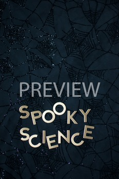 "Stock Photo Styled Image: ""Spooky Science"" Words #3-Personal & Commercial Use"
