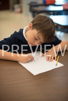 Stock Photo: Student Erasing Mistakes #1-Personal & Commer