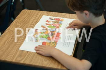 Stock Photo: Student Reading #12-Personal & Commercial Use