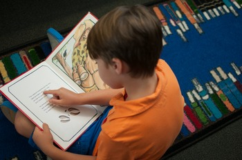 Stock Photo: Student Reading in the Library #3 -Personal & Commercial Use