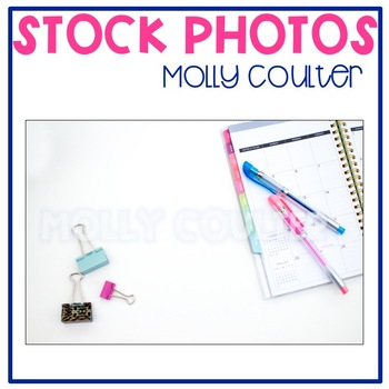 Stock Photo Styled Image: Student/Teacher Planner #2 -Pers