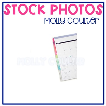 Stock Photo: Student/Teacher Planner #1 -Personal & Commercial Use