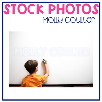 Stock Photo: Student Writing on a Whiteboard-Personal & Commercial Use