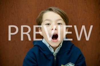 Stock Photo: Surprised Student or Child-Personal & Commercial Use