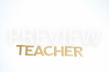 "Stock Photo:""Teacher"" #2 -Personal & Commercial Use"